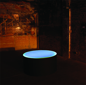 'nothing' installed as part of 'Electric Blue'